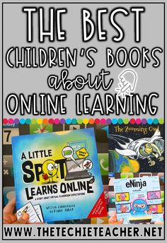 The Best Children's Books About Online Learning. With elearning on the rise, we can't forget about read alouds! Use these stories to help students who are now participating in distance learning. Teaching Reading Strategies, Guided Reading Lessons, Learning Resources, Best Children Books, Childrens Books, Promethean Board, Classroom Expectations, Teacher Blogs, Chromebook