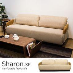 ファブリックソファ 3人掛け / Sharon(シャロン) ¥89,800