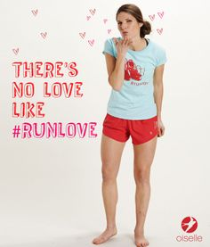 Back at cha @Holly Elkins Elkins Roberts Tweet or repin to send this #Valentine to your running solemate.   There's no love like #runlove cc: @oiselle