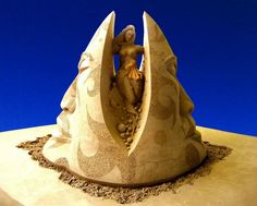 Incríveis esculturas feitas na areia