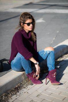 Ms Treinta - Fashion blogger - Blog de moda y tendencias by Alba.: Burgundy