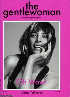 Gentlewoman #5 Spring/Summer 2012 - Christy Turlington (Photographed by Inez & Vinoodh)