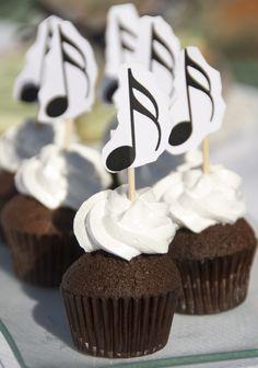 Cupcakes musicales                                                                                                                                                                                 Más