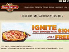 Home Run Inn Ignite Your Summer Sweepstakes