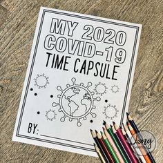 These Printable Worksheets Help Your Kids Make a Quarantine Time Capsule - Education interests Tracing Worksheets, Worksheets For Kids, Printable Worksheets, Printables, Handwriting Worksheets, Handwriting Practice, Science Games For Kids, Pranks For Kids, Science Crafts