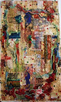 Ave's Rave...Textile Art.....Averil Stuart-Head..Artist/Tutor.: The Legato Exhibition 2010 Cassino Italy
