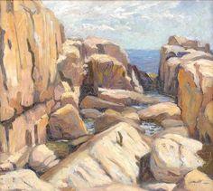 """""""Monhegan 1913"""", George Wesley Bellows"""