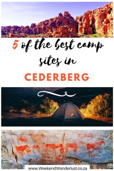 Camping in the Cederberg is definitely a bucket-list experience. Not only is there so much to see and do there, the Cederberg is also suitable for everyone. If you're looking for adventure there are epic climbing crags and multi-day hikes. Camping In England, Camping In Ohio, Yosemite Camping, Florida Camping, California Camping, Camping Places, Camping World, Camping Gear, Beach Camping
