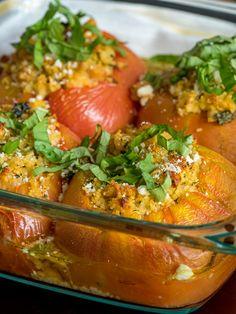 Mediterranean Couscous-Stuffed Tomatoes