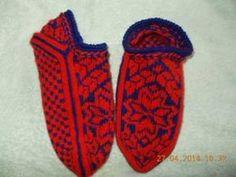 Вязание спицами. Носки. Жаккардовый Узор. Вязание мыска. Схема вязания. mustersocken picture socks - YouTube