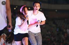 140815 Yuri & Donghae by JYA722