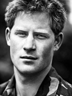 Prince Harry....Lets not even pretend he's not handsome.