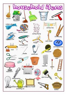 Forum | ________ Learn English | Fluent LandEnglish Vocabulary: Household Items | Fluent Land