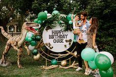 Birthday Party At Park, Dinosaur Birthday Party, Boy Birthday Parties, 4th Birthday, Twin First Birthday, Birthday Themes For Boys, Birthday Ideas, Dinasour Party, Jurassic Park Party
