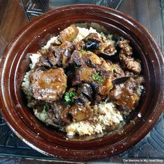 "Beef Ox Tail Tajine With Eggplant At ""Dar Essalam"" in Wilsonville, OR"