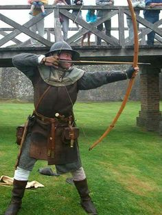 Great example of a medevial Archer
