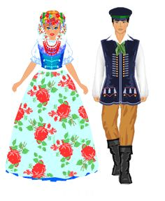 Stroje regionalne. Bytomski Ethnic Outfits, Ethnic Clothes, Folk Costume, Costumes, Polish Folk Art, Traditional Outfits, Snow White, Dress Up, Disney Princess