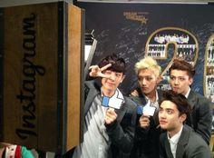 SBS MTV Facebook Update. Chanyeol Tao Sehun D.O ♥