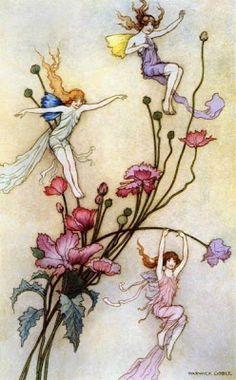El Mundo De Fawn: Hadas Victorianas