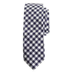 J.Crew - Cotton tie in classic gingham