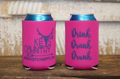 Drink Drank Drunk Coozie