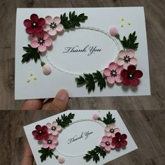 #paperquilling #paper #card #flower #papercard #red #Pink #종이감기 #꽃 #카드 #취미 #작품