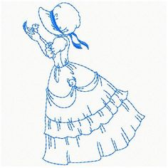 OregonPatchWorks.com - Sets - Sunbonnet Ladies