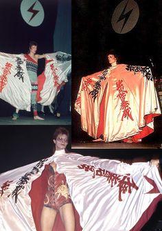 David Bowie (clothes of Kansai Yamamoto) - Kansai Yamamoto (山本寛斎?, born February…