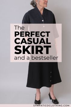 As a key component in a capsule wardrobe, the Angled Skirt ($116) of hemp and Tencel is artisan-made to endure. A sustainably made and versatile hemp skirt, it's easy to wear and care for. Learn more on the Sympatico blog.