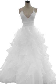 Sunvary Sexy Back Open Organza Bridal Dress Evening Dress for Wedding US Size 17W- White Sunvary http://www.amazon.com/dp/B00GLN26XO/ref=cm_sw_r_pi_dp_CCE6ub1SMVVFF