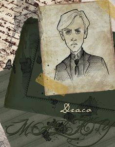 Draco Malfoy by Ninidu.deviantart.com on @deviantART