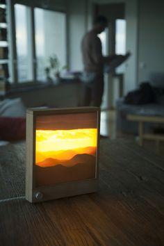 An Elegant LED Backlit Frame That Turns Your Photos Into Illuminated Artworks - DesignTAXI.com