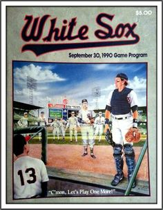 Chicago White Sox: 9/30/1990 Game Program