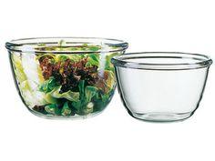 Saladier cocoon en verre trempé 240 cl - Meilleur du Chef