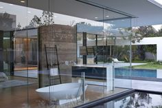 Float House / Pitsou Kedem Architects #agapedesign #spoon bathtub http://www.agapedesign.it/en/products/68-spoon Stairs accessories http://www.agapedesign.it/en/products/549-stairs