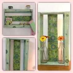 Reaproveitamento, caixotes, Decoração Sustentável, Como decorar com peças sustentáveis .  https://www.facebook.com/Mil925-Atelier-578908522225983/