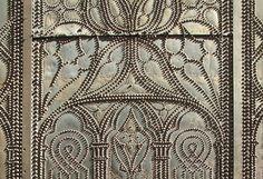 Detail of church door, Avignon, France