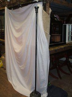 Silver Textured Floor Lamp Tall Lamps, Street Lights, Floor Lamp, Flooring, Silver, Home Decor, Decoration Home, Floor Standing Lamps, Room Decor