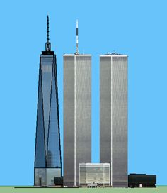 One World Trade Center and The World Trade Center Twin Towers