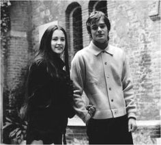 """the-love-of-leo-and-olivia: """"Olivia Hussey and Leonard Whiting 1968 """""""