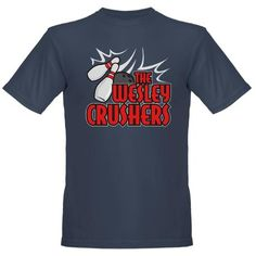 The Wesley Crushers Organic Men's T-Shirt (in honor of Big Bang Theory, this is the name of our trivia team!)