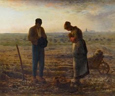 The Angelus (L'Angelus) is an oil painting by French painter Jean-François Millet, completed in 1859.