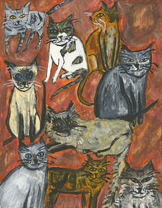 Practical Cats by Vivienne Strauss