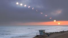 Can The Ecipse Be Seen From Huntington Beach Ca