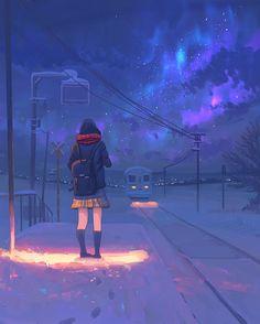 Sad Wallpaper, Anime Scenery Wallpaper, Cartoon Wallpaper, Cool Wallpapers Art, Animes Wallpapers, Manga Anime Girl, Anime Girl Cute, Beautiful Landscape Wallpaper, Anime Friendship