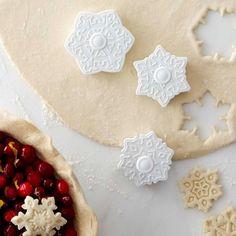 Williams-Sonoma Snowflake Pie Crust Cutters, Set of 3 | Williams-Sonoma