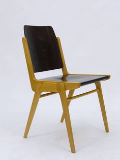 Austro Chair Stacking Chair by Franz Schuster for Wiesner-Hager, $ 800 (which is far too expensive really!)