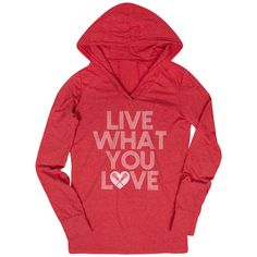 b41b20038 Women's Lacrosse Lightweight Performance Hoodie - Live What You Love |  Girls Lacrosse Hoodies