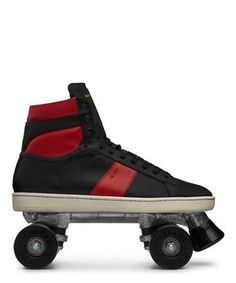 Not that you need a reason for a skate party, but these Saint Laurent sneaker skates are one. @Sneakerboy