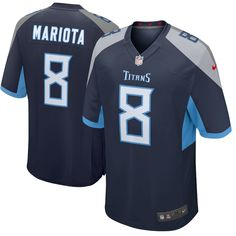 Men s Tennessee Titans Marcus Mariota Nike Navy New 2018 Game Jersey Size M  Memphis Tigers eeae40fe3